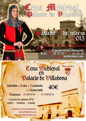 Cena Medieval en el Palacio de Villabona