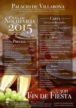 Fiesta de Nochevieja 2015 en el Palacio de Villabona