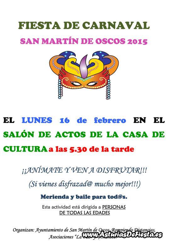 Cartel Fiesta Carnaval 2015