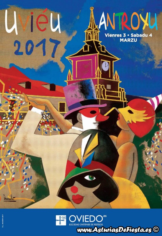 Fiesta de carnaval antroxu en oviedo 2017 03 marzo - Carnaval asturias 2017 ...