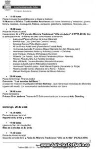 Programa El Bollo 2014 xa web