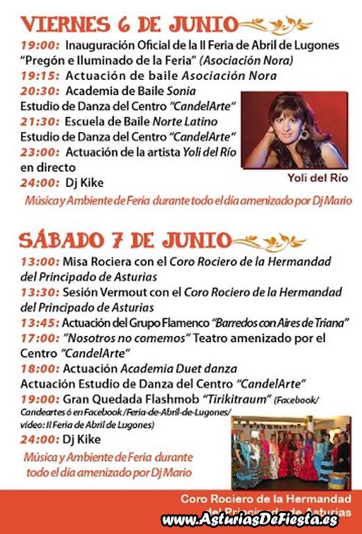 Feria de abril en lugones siero 2014 06 junio - El tiempo en siero asturias ...