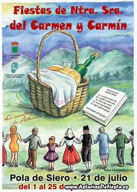 Fiesta de el carm n de la pola siero 2014 07 julio - El tiempo en siero asturias ...