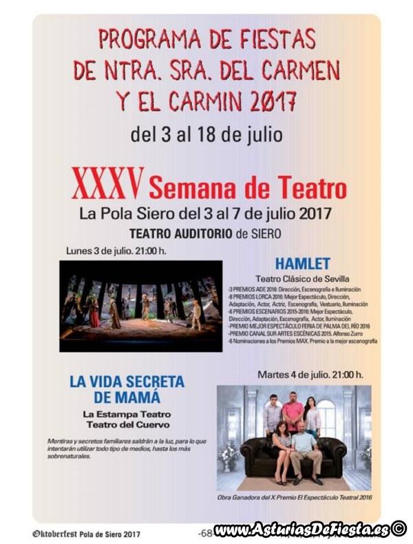 Fiesta de el carm n de la pola siero 2017 07 julio - El tiempo en siero asturias ...