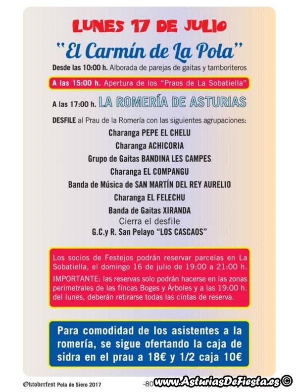 Fiesta de el carm n de la pola siero 2017 07 julio asturiasdefiesta - El tiempo en siero asturias ...