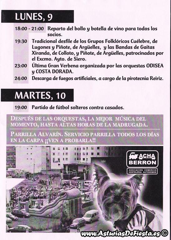 San mart n de la carrera en el berr n siero 2012 07 - El tiempo en siero asturias ...