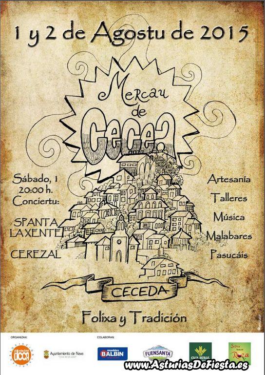 Asturias con niños: Mercáu astur en Ceceda este finde!