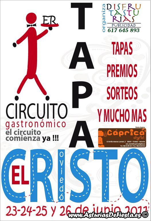 Circuito Gastronomico : I circuito gastronómico el cristo de tapas oviedo