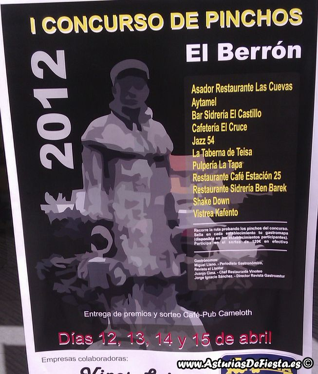 I concurso de pinchos de el berr n siero 2012 04 - El tiempo en siero asturias ...