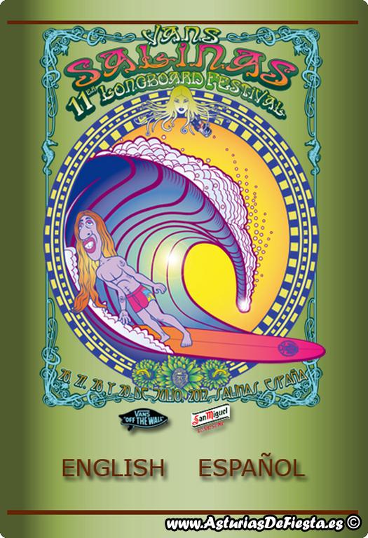 Xi longboard festival en salinas castrill n 2012 07 - Tiempo en salinas castrillon ...