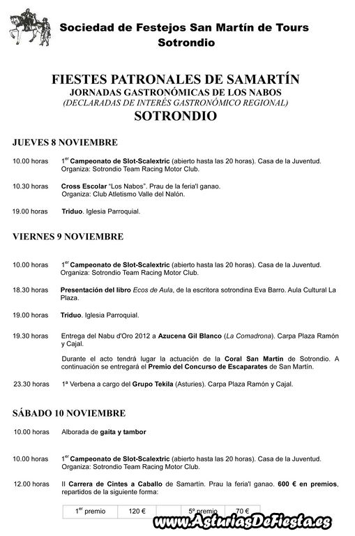 programa san martin 2012