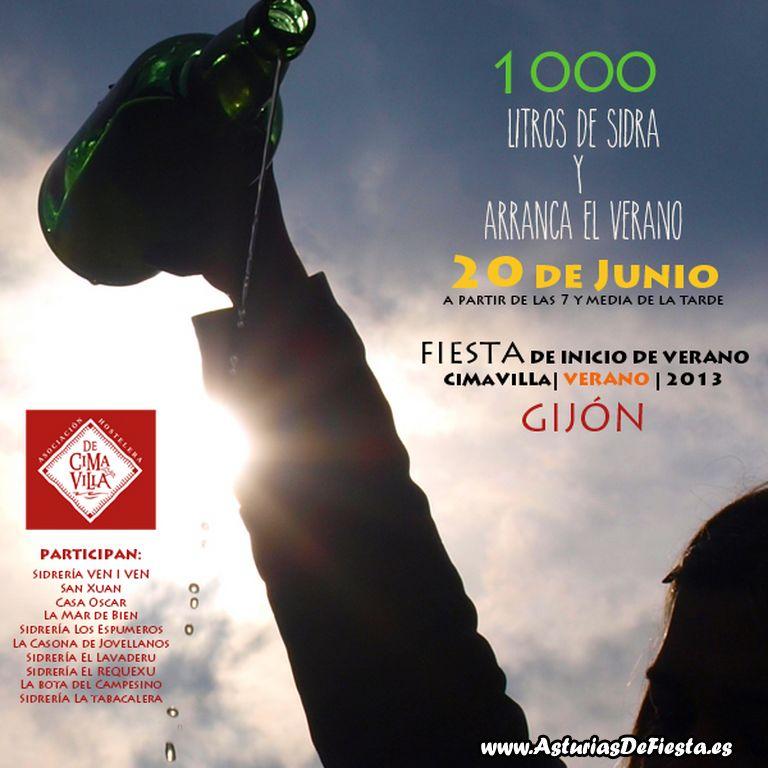 Cartel Fiesta Inicio del Verano [1024x768]
