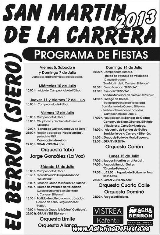 San mart n de la carrera en el berr n siero 2013 07 - El tiempo en siero asturias ...