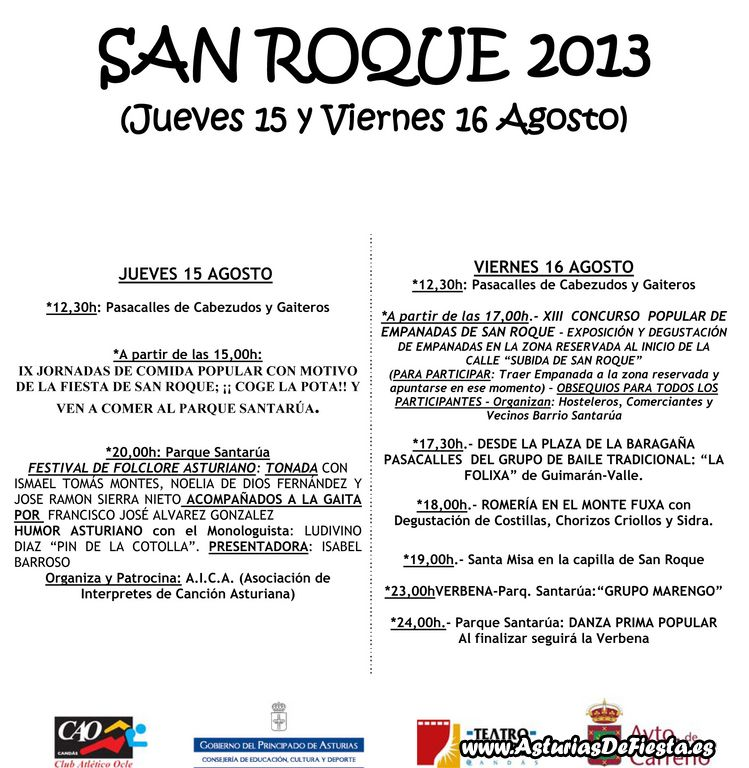 Microsoft Word - 1 CARTEL SAN ROQUE 2013