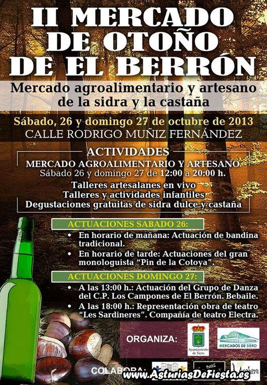 Ii mercado de oto o de el berr n siero 2013 10 - El tiempo en siero asturias ...