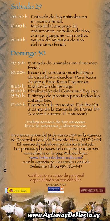 folleto BELMONTE CABALLOS2014 [1024x768]
