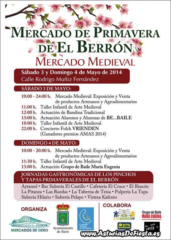 Mercado de primavera de el berr n siero 2014 05 mayo - El tiempo en siero asturias ...