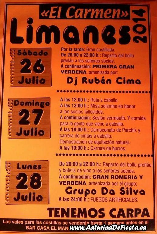 Fiesta de el carmen en limanes siero 2014 07 julio - El tiempo en siero asturias ...