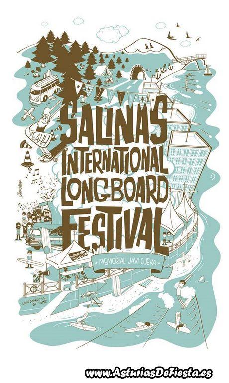 Xiii longboard festival en salinas castrill n 2014 07 - Tiempo en salinas castrillon ...