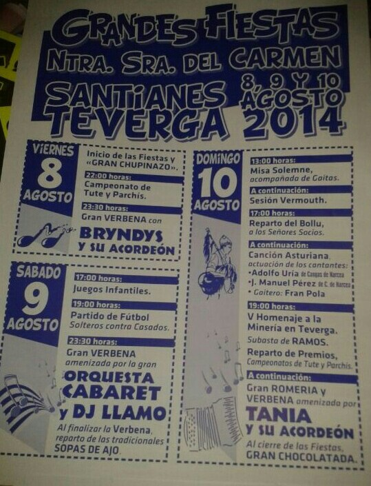 carmen santianes teverga 2014