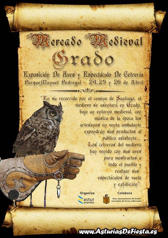 Asturias con niños: Mercado medieval en Grado