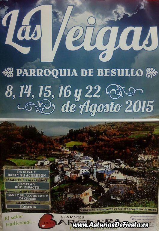 Fiesta de las veigas en besullo cangas del narcea 2015 for Jardin de la cerveza 2015 14 de agosto