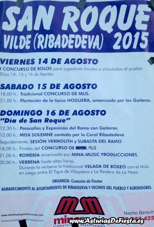 Fiesta de san roque en vilde ribadedeva 2015 08 for Jardin de la cerveza 2015 14 de agosto