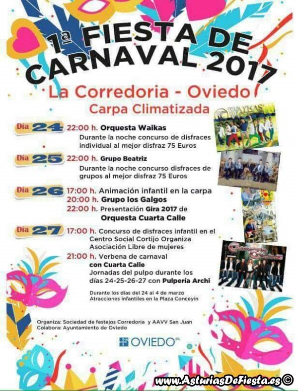 Fiesta de carnaval en la corredoria oviedo 2017 02 - Carnaval asturias 2017 ...