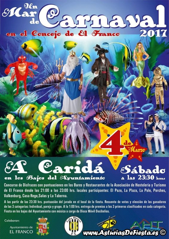 Fiesta de carnaval en el franco 2017 03 marzo - Carnaval asturias 2017 ...