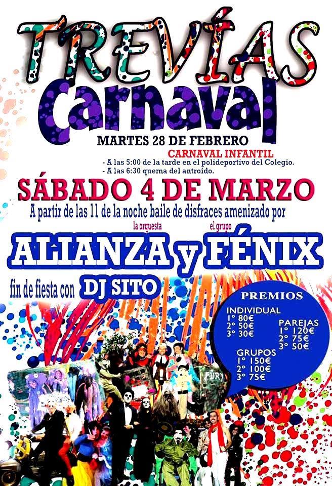 Fiesta de carnaval en trev as vald s 2017 03 marzo - Carnaval asturias 2017 ...
