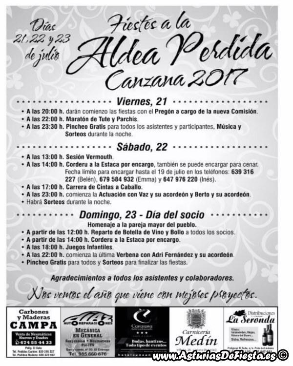 Fiesta De La Aldea Perdida En Canzana Laviana 2017
