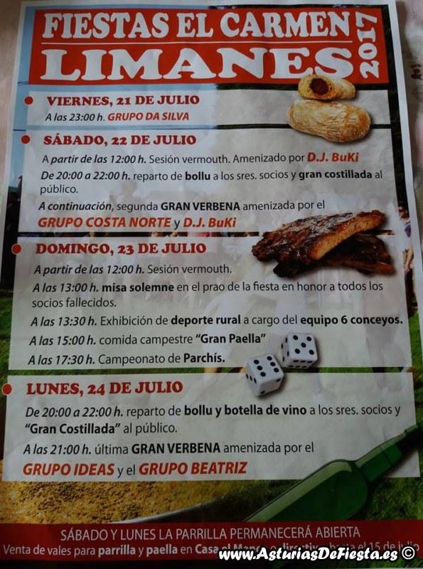 Fiesta de el carmen en limanes siero 2017 07 julio - El tiempo en siero asturias ...