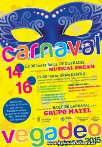 CARTEL CARNAVAL VEGADEO